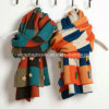 Шарф Knit зимы Knit повелительниц способа теплый