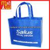 高品質のより安い印刷された青非編まれた袋