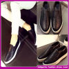 El ocio ocasional de 2015 mujeres de calidad superior calza la venta al por mayor plana clásica del bulto de los zapatos que recorre (H-5424)