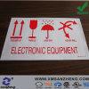 Autoadesivi appiccicosi resistenti chimici variopinti su ordinazione del PVC dell'avviso della strumentazione elettronica