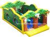 新しく膨脹可能な運動場のジャングルデザイン遊園地