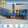Dongfeng 4*2の販売のための持ち上がる貨物自動車クレーントラック