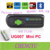 Коробки TV Android 4.2 сердечника Rk3066 3dcortex A9 1.6GHz 1g/8g Google Ug007 II PC HDMI WiFi Bluetooth двойной дешевый миниый