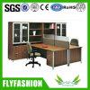Secretária Office Secretária de madeira com gabinete de parede (PT-63)