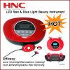 中国の工場提供の皮の美の器械LEDのTheray赤くおよび青の軽い装置