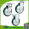 PU Wheels Swivel/Fixed/Brake Caster für Platform Trucks