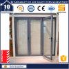 Taille normale de Bifolding de garantie des portes et du Windows dans des mètres