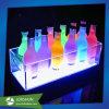 Pantalla LED de colores de acrílico cubo de hielo