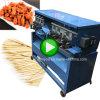 Baguettes ronde de bâton de cure-dent en bois en bambou automatique faisant la machine de production