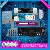 PC/PVCの印刷インキの多くの領域のための伝導性の膜スイッチ