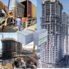 Comitato di parete composito economico del panino del cemento della gomma piuma dell'isolamento termico