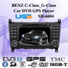 Clase C/G-Class alquiler de DVD reproductor de navegación GPS para Benz (SD-6604)