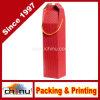 Sacco di carta del vino ondulato su ordinazione (2330)