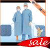 Espèces renforcées jetables d'usine/visiteur stérile de Spunlace/SMS/PP/Nonwoven/SMMS/isolement/robe chirurgicale