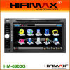 6.2''dos DIN alquiler de DVD con pantalla digital RDS/Bluetooth,iPod,GPS,DVB-T (HM-6903GD)