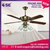 52 Electric lame droite décoration lumière Ventilateur de plafond (56-1506 HgJ)