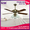 lâmina 52 reta elétrica que decora o ventilador de teto leve (HgJ56-1506)