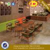 Sofa de café de type et Tableau simples modernes (UL-JT939)