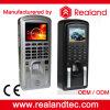 Controle de acesso do comparecimento do tempo da impressão digital da segurança com leitor de RFID
