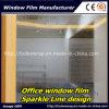 Pellicola decorativa 1.22m*50m della finestra dell'ufficio della pellicola della pellicola della finestra della scintilla