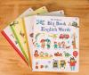 Livro de capa dura de alta qualidade/ impressão de livros de aprendizagem das crianças