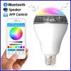Couleur sans fil sèche de contrôle du haut-parleur $$etAPP de Bluetooth de lumière d'ampoule de DEL