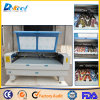 80W 100W CNC-CO2 Laser-Scherblock mit CCD für Stickerei-Plakat-Preis