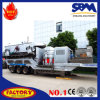 Precio móvil agregado de calidad superior de la planta de la trituradora
