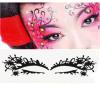 Etiqueta elegante do tatuagem da etiqueta do olho da máscara de olho da arte do olho