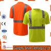 사려깊은 짧은 소매 안전 높은 시정 t-셔츠