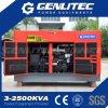 generador diesel insonoro de 12kw 15kVA con el motor de Changchai
