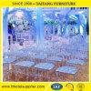 싼 튼튼한 Chiavari 의자 공간은 투명한 의자 결혼식 사용을 아래로 두드린다
