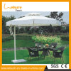 Mobília de jardim moderna Mesa de jantar de rattan sintética redonda de pátio usada