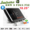 Reprodutor de DVD Android BMW 3/4/F30/F32 GPS de rádio Navigatior OBD do carro de Carplay antiofuscante 10.25