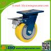 200mm Hochleistungsbremse PU-Fußrolle
