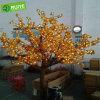 LED melocotón Árbol de navidad ligero de fábrica