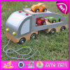 2015 Madeira Novo Kids Toy Car deslize, Carro de madeira brinquedo, aluguer de brinquedos a Madeira para bebé, Kids brinquedos de madeira carro W04A186