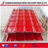 Strato d'acciaio rivestito del tetto di Typies di colore ondulato