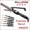 M602f обеспечивает уникальный дизайн Xstyle титана щипцы для завивки волос цилиндра экструдера