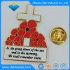 personalizado Rose Flower Pin de lapela de esmalte de Metal