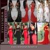 Fashion femmes sexy robe longue partie Maxi robe de soirée (60064)