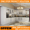 2015 Oppein Noble White Solid Wood Kitchen Cabinet (OP14-007)