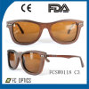 Venta caliente de cristal de gafas de madera de bambú OEM