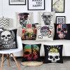 Inicio venta de fábrica personalizada decorativo Cojín de sofá Cojín de algodón cubierta impresa