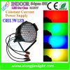 No-Impermeable cubierta 54PCS 3W LED PAR Puede encender la luz del LED