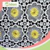 130cmの衣服のアクセサリの花はポリエステルレースファブリックを設計する