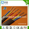 2 cable électrique plat jumeau de fil électrique du noyau TPS