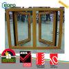 도매 UPVC 두 배 오프닝 여닫이 창 Windows