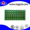 2-couche de carte de circuit imprimé de petite taille FR4 avec la fente de routage