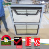 Conch UPVC Profile Glass Window com Bottom Fixed Design